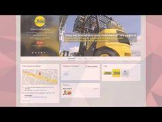 Criação de Site Institucional: Goiás Empilhadeiras Goiânia
