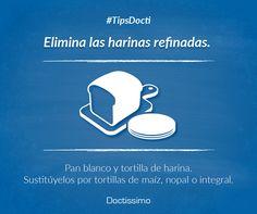 #TipsDocti Elimina la grasa abdominal con pequeños cambios. ¡Si puedes lograrlo!