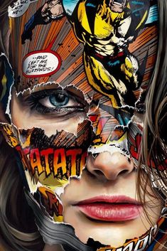 Sandra Chevrier - La Cage et le noir Charbon Comic Books Art, Comic Art, Sandra Chevrier, Pop Art Fashion, Pop Art Wallpaper, Arte Horror, Gcse Art, Portraits, Art Sketchbook