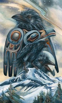 "Thursday's Native Wisdom...  ""Looking behind I am filled with gratitude.  Looking forwad I am filled with vision.  Looking upwards I am filled with strength.  Looking within I discover Peace.""~ Q'ero  Art by Jody Bergsma xo"
