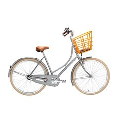 Damecykel 3 gear - Urban Chic af Velorbis - Grå Dansk designercykel med livsvarig stelgaranti