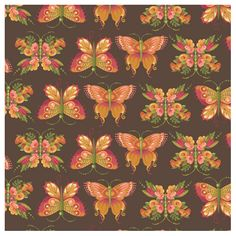 Mary Engelbreit fabric featuring the Flutterby Collection for Andover Fabrics.