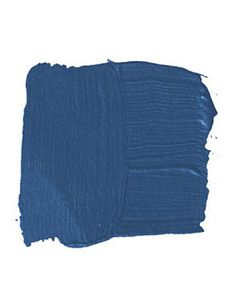 """maybe for library?  Patriot Blue  BENJAMIN MOORE PATRIOT BLUE 2064-20: """"I don't like baby blue or sky blue — I like dark, strong cobalt blue. It reminds me of Europe, in the sense of luxuriousness and the privacy it creates in a room. It shields you. I'd use it in a study or a library, and then snap it up with furniture from the '40s or '50s and a faux-zebra rug."""" -Roger de Cabrol"""