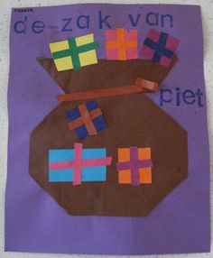 Knutselen: De zak van Zwarte Piet