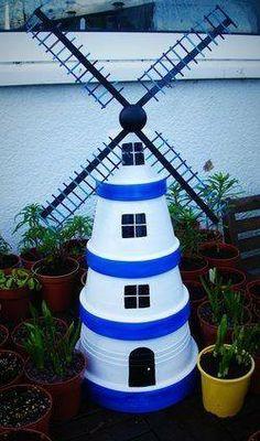 Dco Jardin DIY 35 Ides Pour Intgrer Les Pots En Terre