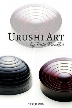 urushi art by fritz frenkler, artisan work from gar131