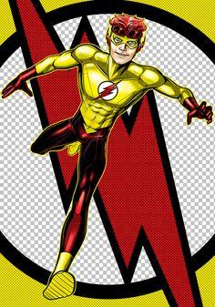 Kid Flash Prestige Series by Thuddleston@deviantART