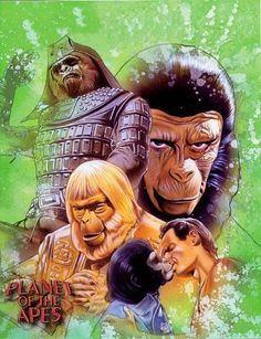 Everything about the mighty PLANET OF THE APES saga, from the original novel, via the classic films of the and right up to the 2011 reboot. Christian Skits, Pierre Boulle, Plant Of The Apes, Dali Paintings, Cool Posters, Movie Posters, Sci Fi Movies, Action Movies, Original Movie