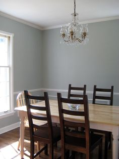 Kitchen and Dining Room Paint Colors Luxury Benjamin Moore Silver Marlin Dining Room Paint Colors, Paint Colors For Home, Bedroom Colors, Bedroom Decor, Bedroom Ideas, Diy Home, Home Decor, Modern Bedroom Design, Layout