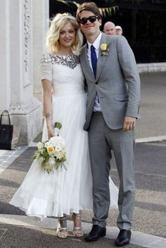 Most Stylish Celebrity Brides of 2014 - Feast your eyes, ladies. I love the sequins, the layers, the embroidery... ah :)