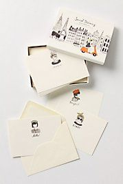 Global greeting cards, Anthropologie, $28.00 , so cute! I saw them at the store and adore the art.