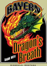 Bayern Dragon's Breath dark wheat beer... num!