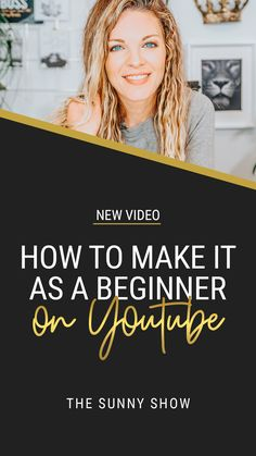 HOW TO MAKE IT AS A BEGINNER ON YOUTUBE // Are you just getting started on YouTube? Then today's video is crafted specifically for you, Boss! I'm going over the top 6 steps you can take to stand out as a beginner. And don't worry, there's plenty of advice around things you DON'T want to do as well :) Marketing Tactics, Content Marketing Strategy, Business Marketing, Media Marketing, Digital Marketing, Business Video, Business Tips, Online Business, Social Media Video