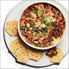 Baked Black Beans with Chorizo | MyRecipes.com #MyPlate #protein #vegetable