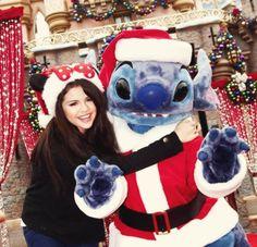 @SelenaFanClub: Sel & Stitch! #TBT