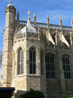 St. George's Chapel, Windsor Castle ~ London, England