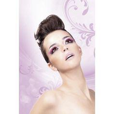Baci Roze-Zwarte Glamour wimpers 535