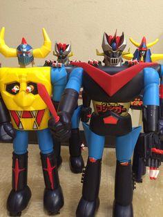 Shogun Warriors! Mazinga, Raideen and Gaiking