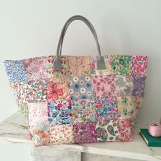 Fabulous Flea Market Bag - Liberty Tana Lawn Florals
