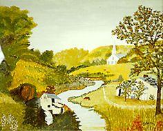 Grandma Moses painting