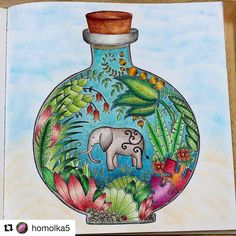 #Repost @homolka5 with @repostapp  Magical Jungle   #antistress…