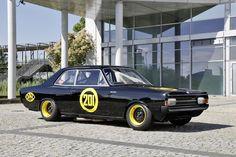 "1960s Opel Rekord C - ""Die schwarze Witwe"""