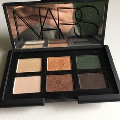Nars Cosmetics Limited Edition Palette Gently used. 6 Eyeshadows from various Nars Duos. I added the labels. No box included. I discarded the original box after purchase. NARS Makeup Eyeshadow