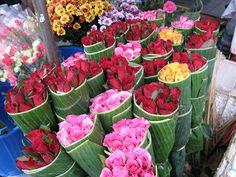 Flower stall, Bangkok