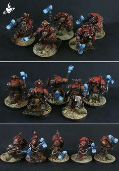 Blood Angels Hammer Squad