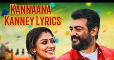 Tamil Songs Lyrics: Kannaana Kanney Song Lyrics From Viswasam Tamil Mo. Tamil Video Songs, Tamil Songs Lyrics, Song Lyrics, D Imman, Movie Songs, Tamil Movies, Singer, Music, Tech