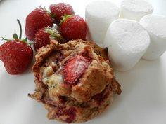 Après la populaire galette santéJ'aime ta fraisede l'été dernier .Voici la 2e galette du festival estival SANS GLUTEN ET SANS PRODUITS LAITIERS de Madame Labriski, la Fraîchemallow. Une galette tendre et spongieuse cuisinée avec des fraises fraîches et au reste de guimauves grillées… OMG! Un pur délice d'été qui nousrappelle que la vie est belle....