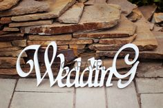 Wooden white word Wedding by Wedphoto on Creative Market One Year Birthday Cake, Vintage Wedding Cards, Love Backgrounds, Wedding Card Design, Cat Gifts, Marriage, Fancy, Words, Holiday