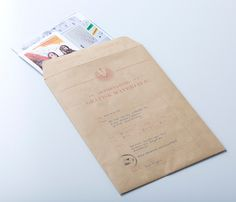 Self Promotion: Résumé & Job Application by Vidar Olufsen, via Behance