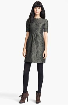Burberry London Floral Jacquard Dress available at #Nordstrom