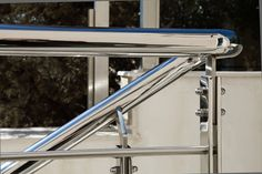 Inox Εξωτερικών Χώρων | Andos Glass Ladder, Glass, Projects, Log Projects, Stairway, Blue Prints, Drinkware, Corning Glass, Ladders