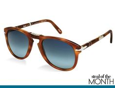Persol sunglasses, available at Sunglass Hut.  Featured in Vogue.