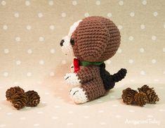 Beagle puppy - Free crochet pattern by Amigurumi Today