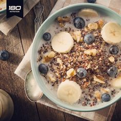 When you need an easy-to-enjoy superfood, then it's time to buddy up with quinoa. Learn ways to eat quinoa for any and every meal. Quinoa Breakfast Bowl, Slow Cooker Breakfast, High Protein Breakfast, Breakfast For Kids, Breakfast Recipes, Breakfast Ideas, Nutritious Breakfast, Breakfast Dishes, Banana Breakfast