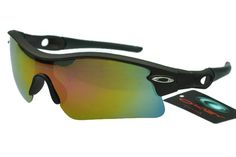 Oakley Radar Sunglasses Black Frame Colorful Lens