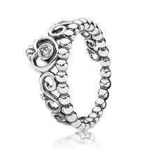 PANDORA | My Princess, Clearr CZ  Honestly i want this so bad tbh but i literally have no money in my life