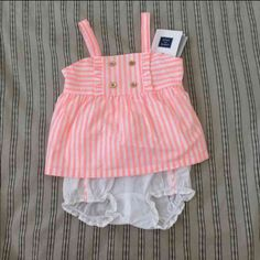 Janie and Jack baby dress BrandNew, never worn size 0-3m smoke free home and pet free home Other