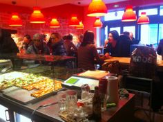 Al Taglio 27 rue de Saintonge, Paris 3  Des pizzas à la découpe tellement bonnes!