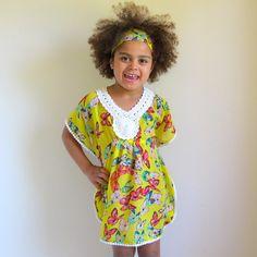 little girls heaven - Crochet Kaftan CK16