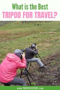 If you're looking for a compact and lightweight travel tripod, then check out this guide. There are 6 awesome tripods that are perfect for travel. #photography #cameragear #tripod #photojeepers