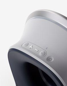 Eclipse Sound designed by BKID #Eclipse #Speaker #Sound #Speaker #Samsung #Product #BKID #BKIDSTUDIO #송봉규 #bongkyusong Id Design, Sound Design, Shape Design, Industrial Design Sketch, Machine Design, Interface Design, Design Reference, Sound Speaker, Design Inspiration