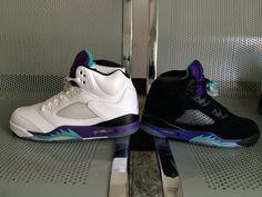 watch 81cb6 b80a2 Air Jordan 5 Grapes