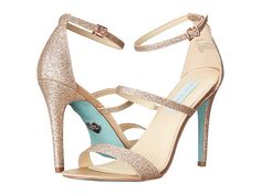 Blue by Betsey Johnson Kelly Champagne Glitter - 6pm.com