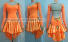 latin competition dance clothes,latin dance clothes for children:LD-SG204