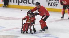 FOX NEWS: Chicago Blackhawks make 12-year-old boy's dream come true