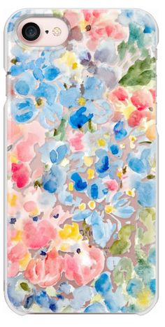 Casetify iPhone 7 Snap Case - Hydrangea Love by Pineapple Bay Studio